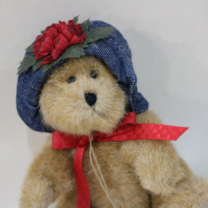 Boyds Bear Accents - Mini Plush Boyds Teddy Bear